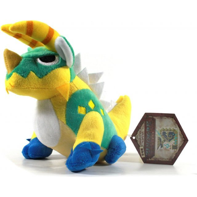 Monster Hunter Monster Plush Doll: Zinogre (Re-run)