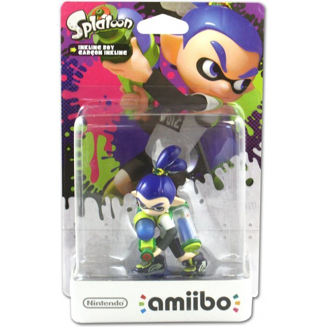 amiibo Splatoon Series Figure (Inkling Boy)