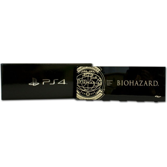 PlayStation 4 HDD Bay Cover Biohazard BSAA Version (Black)