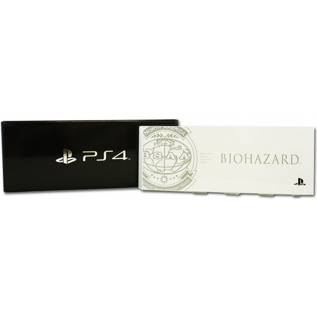 PlayStation 4 HDD Bay Cover Biohazard BSAA Version (White)