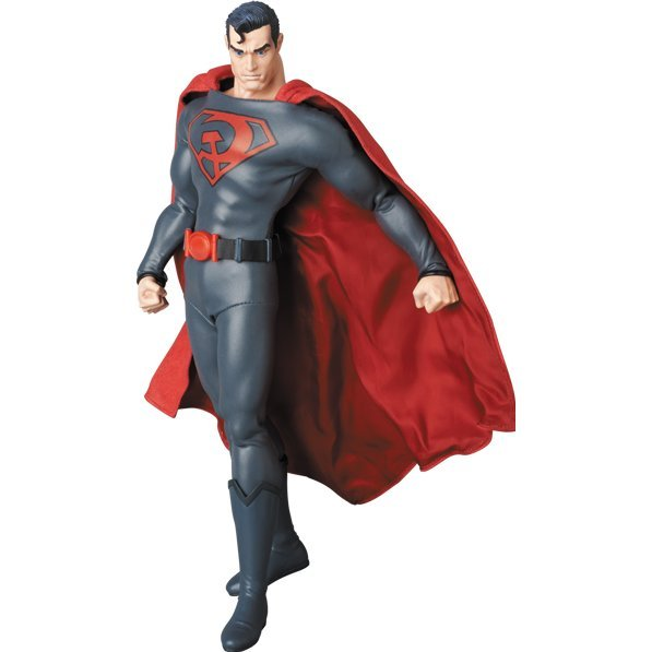 Real Action Heroes No. 715 Superman Red Son: Superman (Red Son Ver.)