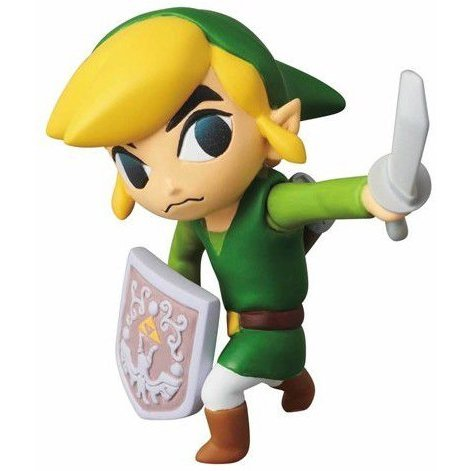 Ultra Detail Figure The Legend of Zelda The Wind WakerZelda: Link (Re-run)
