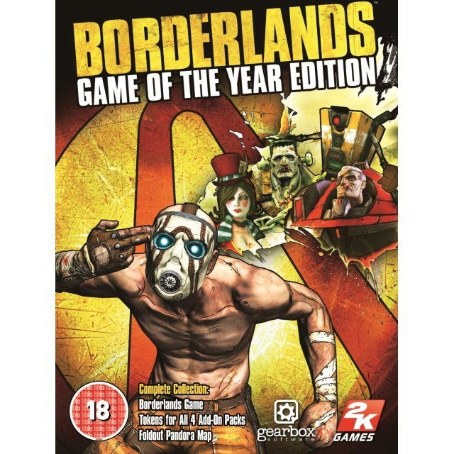 Borderlands: Game of the Year Edition (Steam)