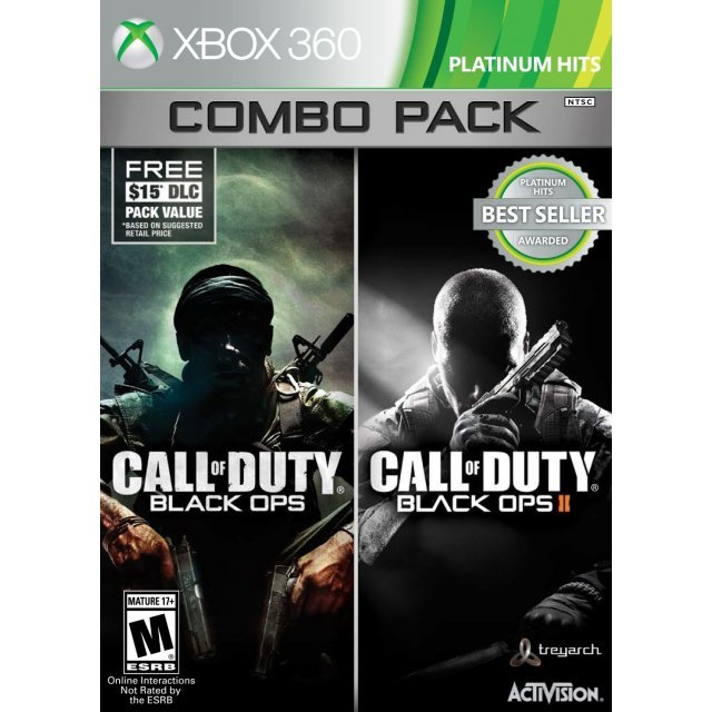 Call Of Duty Black Ops 1 Amp 2 Combo Pack Platinum Hits