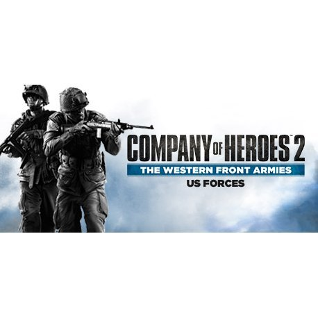 Company of Heroes 2: The Western Front Armies (US Forces) [DLC] (Steam)