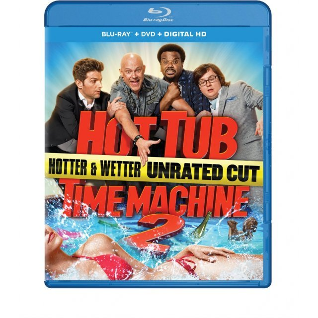 Hot Tub Time Machine 2 [Blu-ray+DVD+Digital HD]