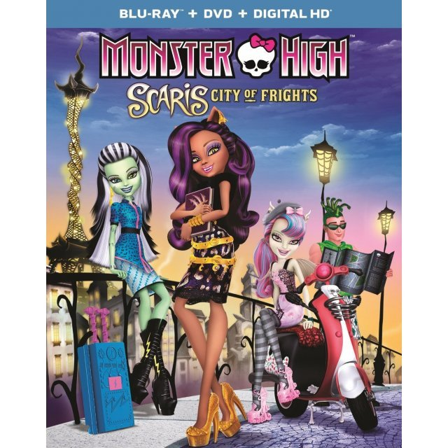 Monster High: Scaris, City of Frights [Blu-ray+DVD+Digital Copy]