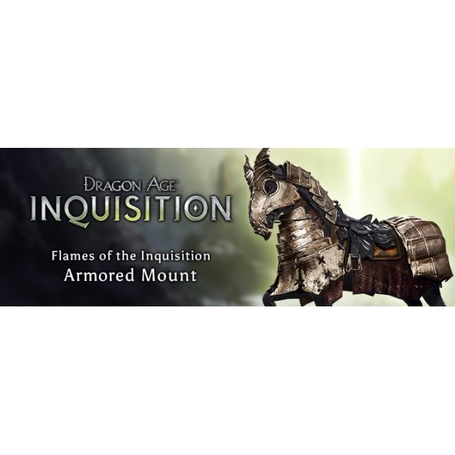 Dragon Age: Inquisition - Flames of the Inquisition Armored Mount [DLC] (Origin)