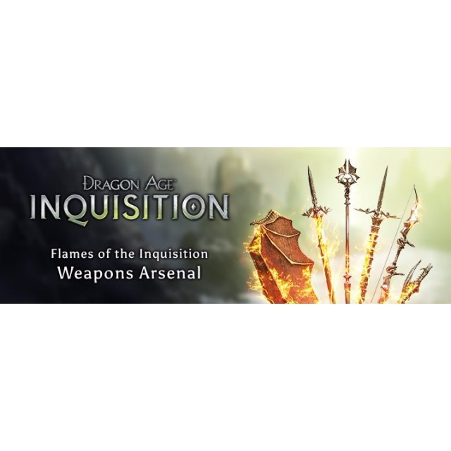 Dragon Age: Inquisition - Flames of the Inquisition Weapons Arsenal [DLC] (Origin)