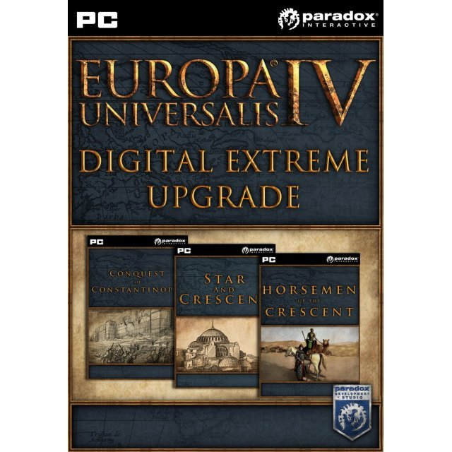 Europa Universalis IV: Digital Extreme Edition Upgrade Pack [DLC] (Steam)