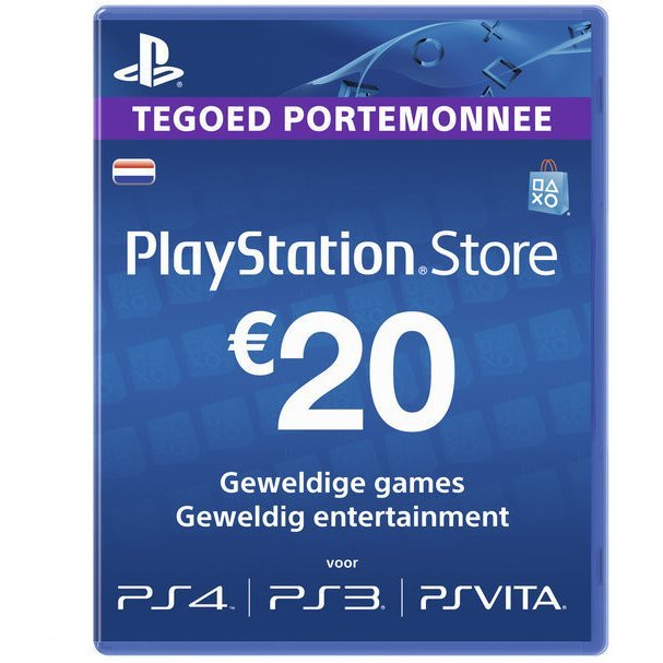 PlayStation Network 20 EUR PSN CARD NL
