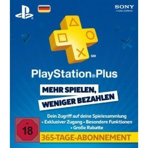 PlayStation Plus 365 Day Subscription [Germany]