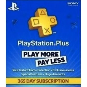 PlayStation Plus 365 Day Subscription [Netherlands]