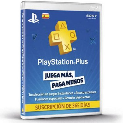 PlayStation Plus 365 Day Subscription [Spain]