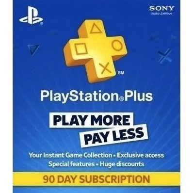 PlayStation Plus 90 Day Subscription [Netherlands]