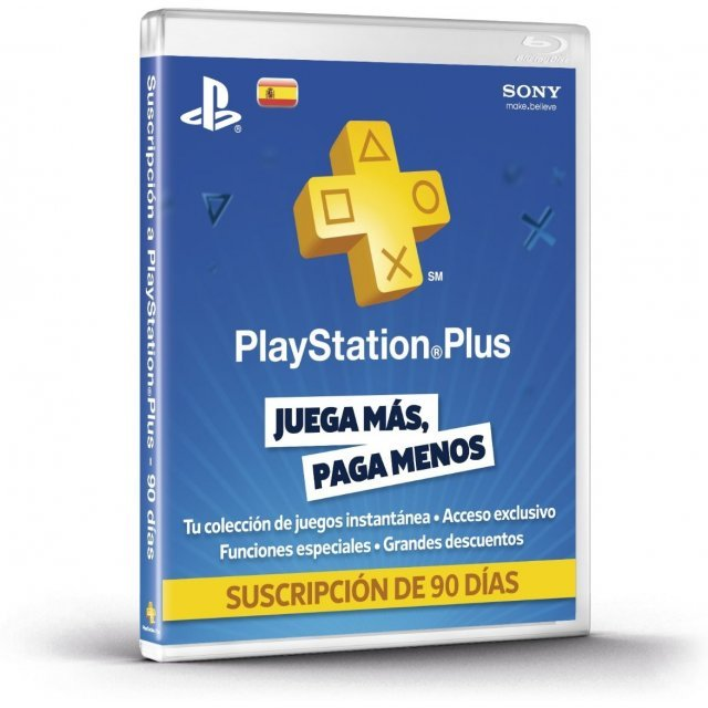 PlayStation Plus 90 Day Subscription [Spain]