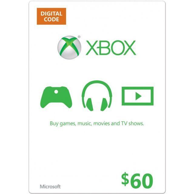 Xbox Gift Card (USD 60)