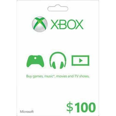 Xbox Gift Card (USD 100)