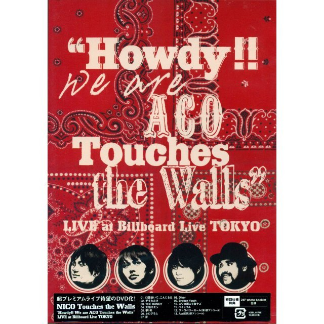Howdy We Are Aco Touches The Walls - Live At Billboard Live Tokyo