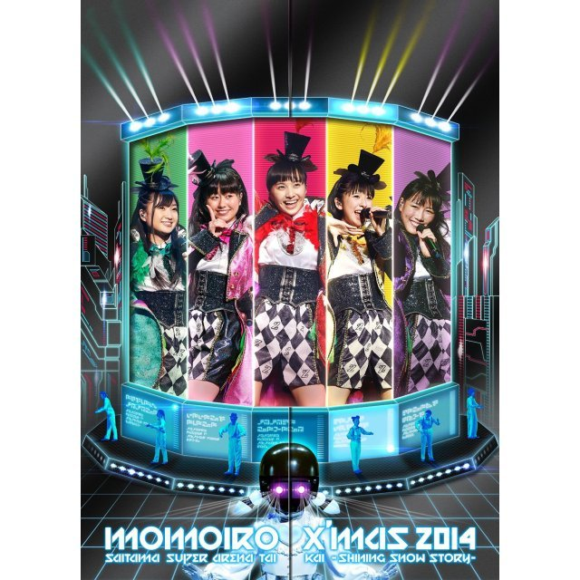Momoiro Christmas 2014 Saitama Super Arena Taikai - Shining Snow Story - Day1 / Day2 Live Dvd Box [Limited Edition]