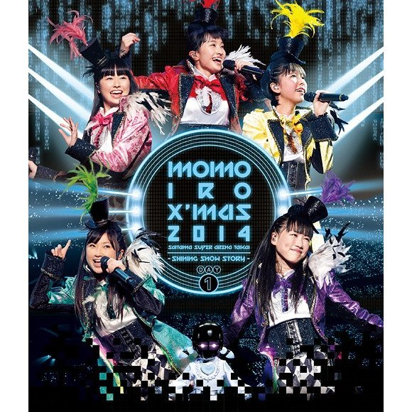 Momoiro Christmas 2014 Saitama Super Arena Taikai - Shining Snow Story - Day 1 Live Blu-ray