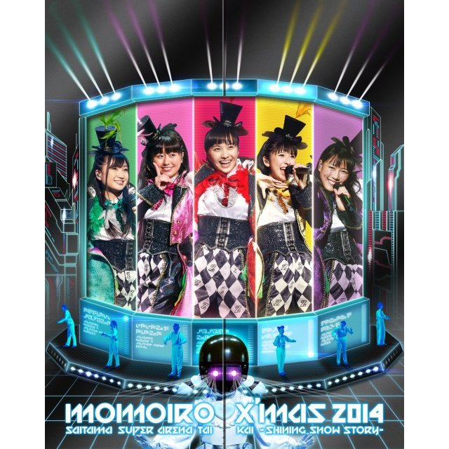 Momoiro Christmas 2014 Saitama Super Arena Taikai - Shining Snow Story - Day1 / Day2 Live Blu-ray Box [Limited Edition]