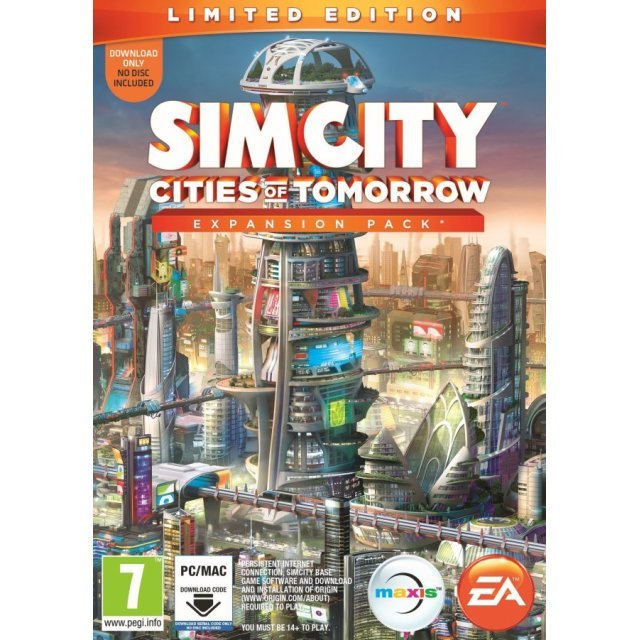 SimCity: Cities of Tomorrow Expansion Pack (Limited Edition) (Origin)