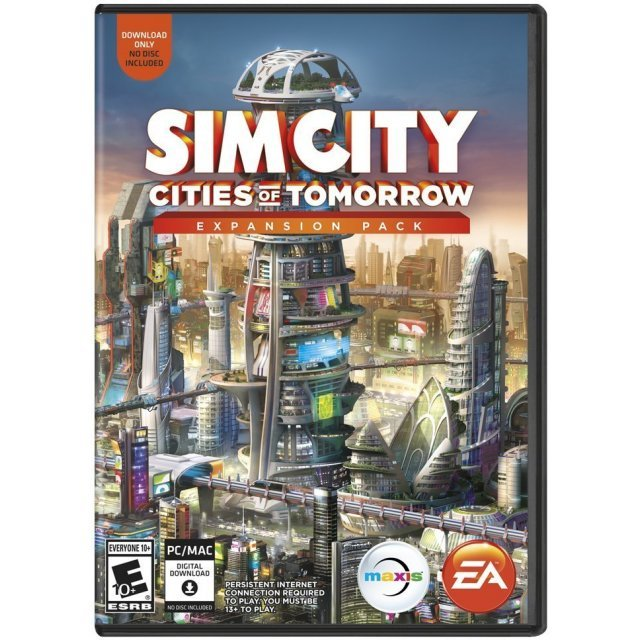 SimCity: Cities of Tomorrow Expansion Pack (Origin)