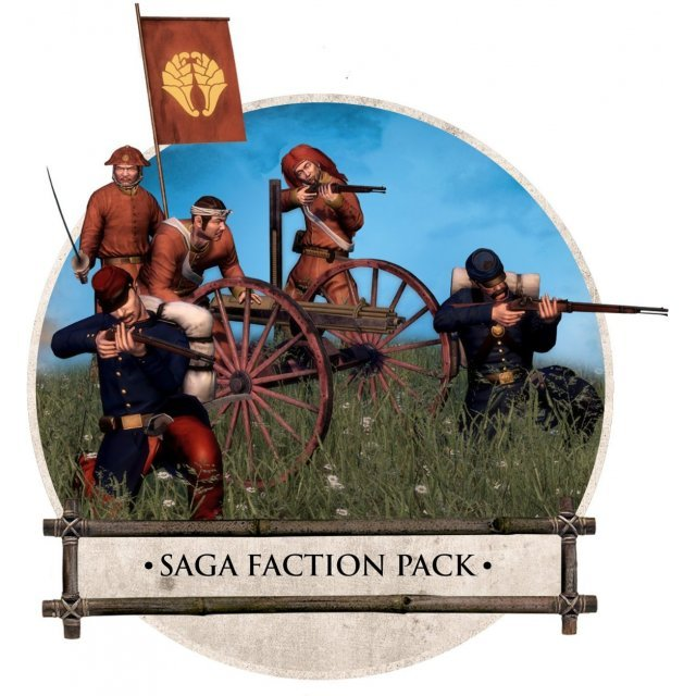 Total War: Shogun 2 - Fall of the Samurai (The Saga Faction Pack) [DLC] (Steam)