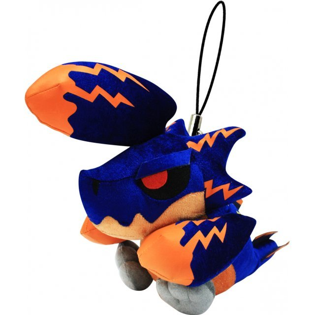 Monster Hunter Monster Mini Mascot Plush: Takerihazeru Brachydios