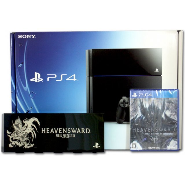 PlayStation 4 System [Final Fantasy XIV Heavensward Edition] (Jet Black)
