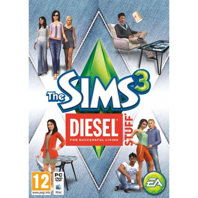 The Sims 3: Diesel Stuff Pack [DLC] (Origin)