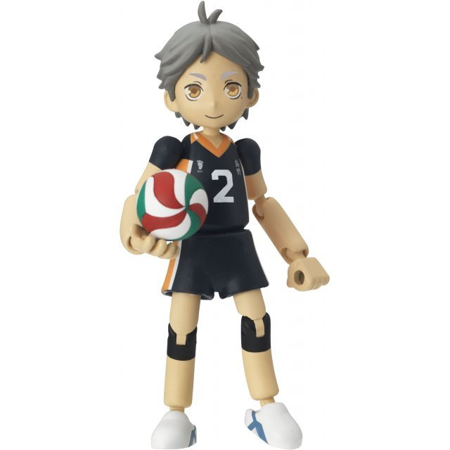 Yakudou Sotai Playing Figure feat. Haikyu!!: PG05 Sugawara Koshi