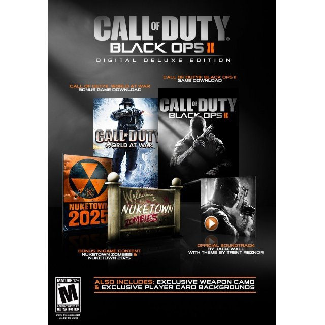 Call of Duty: Black Ops II (Digital Deluxe Edition) (Steam)
