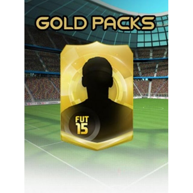 FIFA 15 - 15 FUT Gold Packs (Origin)