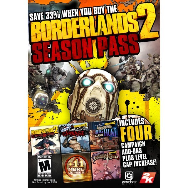 Borderlands 2 - Season Pass [DLC] (Steam)