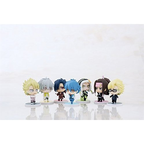 Dramatical Murder Trading Chimi Figure Collection (Set of 10 pieces)