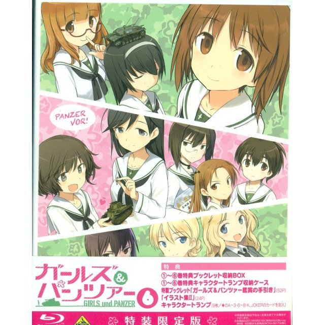 Girls Und Panzer Vol.6 [Limited Edition]