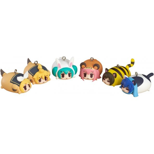 Character Vocal Series Hatsune Miku Animal Charm Strap (Set of 8 pieces)