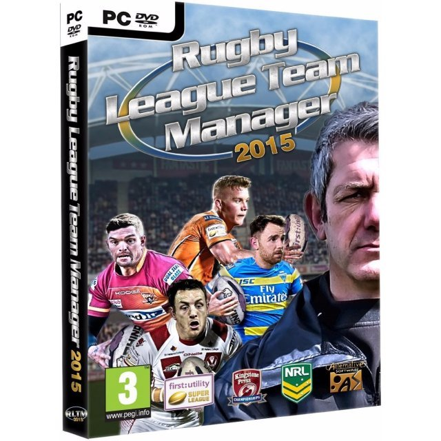 Rugby League Team Manager 2015 (DVD-ROM)