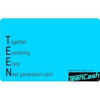 Teen Cash Card (5000 Won)