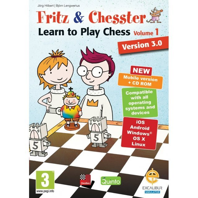 Fritz & Chesster: Learn to Play Chess Vol. 1 Version 3.0 (DVD-ROM)