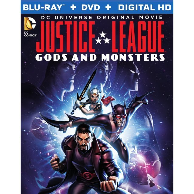 Justice League: Gods & Monsters [Blu-ray+DVD+Digital HD]