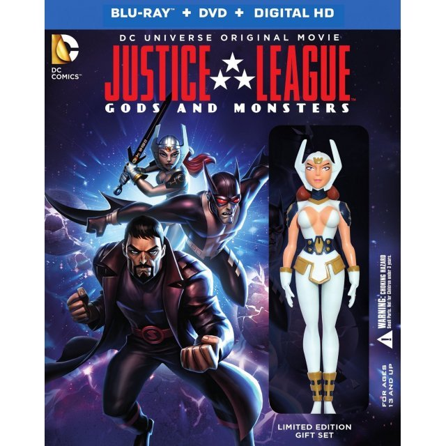 Justice League: Gods & Monsters (Limited Edition) [Blu-ray+DVD+Digital HD]