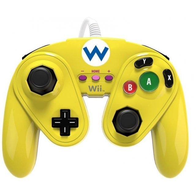 PDP Wired Fight Pad for WiiU (Wario)