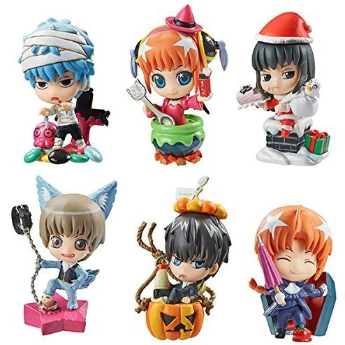 Petit Chara Land Gintama: Autumn & Winter Psychedelic Party Ver. (Set of 6 pieces)