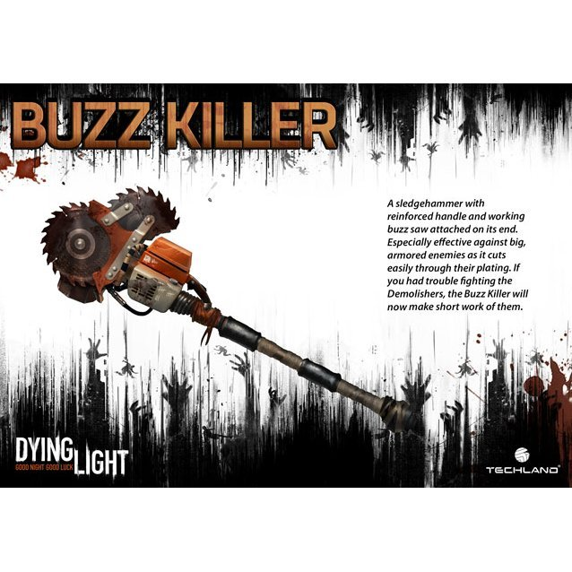 Dying Light - Buzz Killer Weapon Pack [DLC] (Steam)