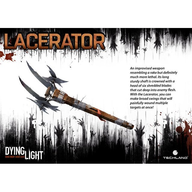 Dying Light - Lancerator Weapon Pack [DLC] (Steam)