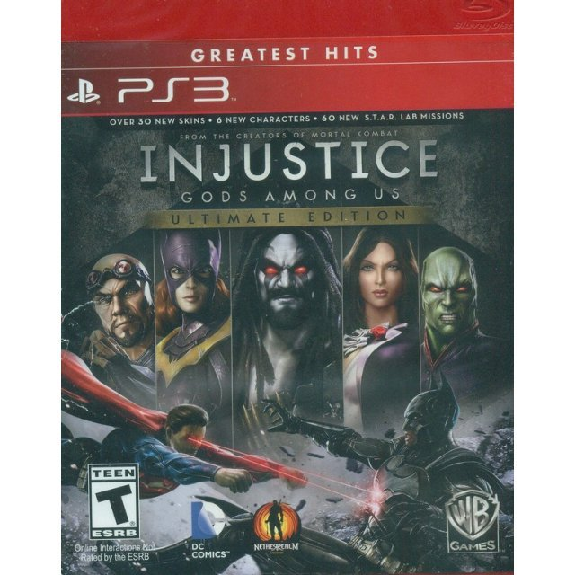 Injustice: Gods Among Us - Ultimate Edition (Greatest Hits)