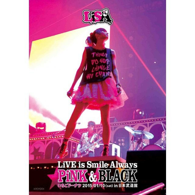Live Is Smile Always - Pink & Black In Nippon Budokan - Ichigo Doughnut
